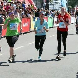 Lattelecom Riga Marathon - Aija Valtere (9138), Julia Moedritscher (9569), Diāna Vaidere (10890), Katsiaryna Davydzenka (11401), Palina Rusak (14745)