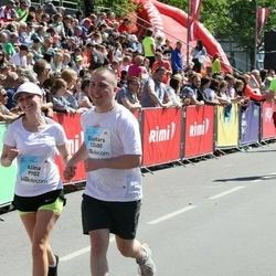 Lattelecom Riga Marathon - Alīna Kļaviņa (9902), Guntars Kļaviņš (12480)
