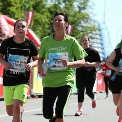 Lattelecom Riga Marathon - Agnese Vilemsone (12874), Daniels Ģirts Vilemsons (12875)