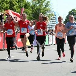 Lattelecom Riga Marathon - Dace Sirsniņa (10713), Marika Sukure (10718), Natalija Grigorjeva (10719), Zane Bernāte (10721), Agnese Valkere (12777)