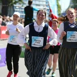 Lattelecom Riga Marathon - Alise Liepiņa (11101), Maruta Lapše (11503)