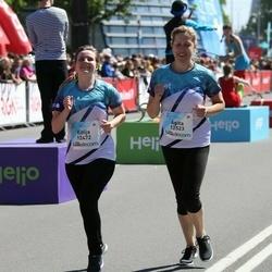 Lattelecom Riga Marathon - Kitija Alksne (12472), Agita Saulīte-Vērpele (12523)