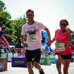 Lattelecom Riga Marathon - Agris Vinakmens (8048), Sanita Morjakova (8049)