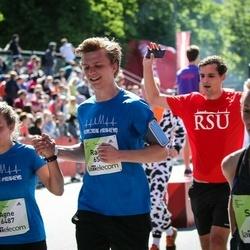 Lattelecom Riga Marathon - Agne Lapsa (6487), Raivis Rimkus (6506)