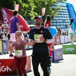 Lattelecom Riga Marathon - Agnese Girviča (6927), Mārtiņš Trukšāns (8119)