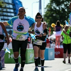 Lattelecom Riga Marathon - Claudia Shenshakir (5656), Alon Yeger (5677)