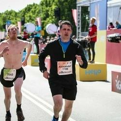 Lattelecom Riga Marathon - Alexander Shukan (1188), Artūrs Bogdanovs (7540)