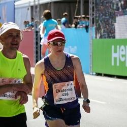 Lattelecom Riga Marathon - Ekaterina Zakharik (488), Evgeny Chernushkin (1532)