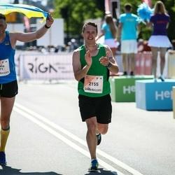 Lattelecom Riga Marathon - Pavlo Ushakov (771), Ainārs Brahmanis (2155)