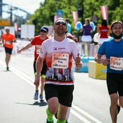 Lattelecom Riga Marathon - Edmunds Domkins (746), Alvis Reinbergs (2102)