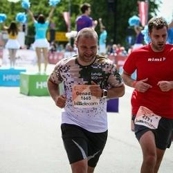 Lattelecom Riga Marathon - Genadijs Beļajevs (1665), Māris Arājs (2171)