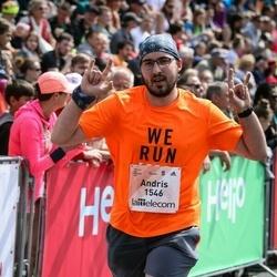 Lattelecom Riga Marathon - Andris Melnis (1546)