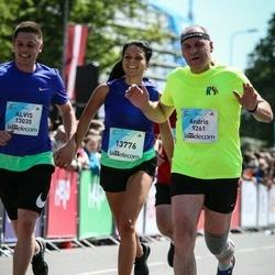 Lattelecom Riga Marathon - Andris Meļķerts (9261), Alvis Puzāks (13035), Monta Ivonna Masa (13776)