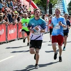 Lattelecom Riga Marathon - Kārlis Ozols (12156), Aigars Lapiņš (13458)