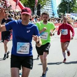 Lattelecom Riga Marathon - Jevgenijs Bakuzis (10314), Andris Lanka (11275)