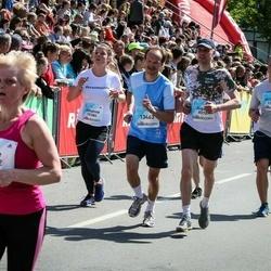 Lattelecom Riga Marathon - Aigars Smalkais (9074), Johanna Brillinger (10384), Gustavs Baumanis (12746), Arnis Lauva (13463)
