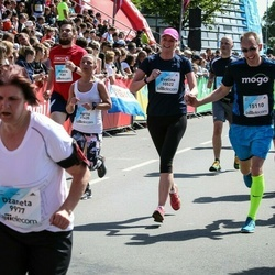 Lattelecom Riga Marathon - Evelīna Bujāne (10522), Agrita Jakubovska (11435), Jānis Lesiņš (15110)