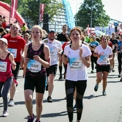 Lattelecom Riga Marathon - Agnese Irmeja (15020), Dārta Pāvulēna (15322)