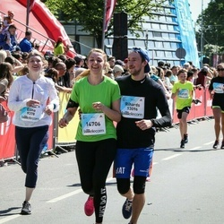 Lattelecom Riga Marathon - Elīna Tropa (9378), Rihards Vilcāns (13096), Agnese Vaska (14706)