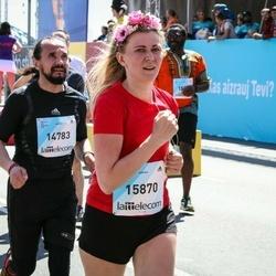 Lattelecom Riga Marathon - Andrejs Jermolinskis (14783), Aija Veinberga (15870)