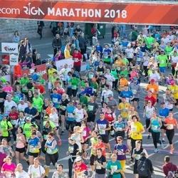 Lattelecom Riga Marathon - Anna Faithfull (326), Andrey Gushchin (1706), Aleksei Abisev (1867), Ondrej Fikrle (3068), Ann Helen Dybwad (3969), Liina-Kai Raivet (4322), Mari Mets (4489), Ilze Saukāne (5124), Andris Gauračs (6920), Vjaceslavs Lazdāns (6962), Sergejs Spivaks (7219), A