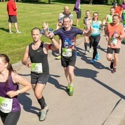 Lattelecom Riga Marathon - Raimundas Sketrys (4838), Ēriks Liepiņš (4969), Elīna Frīzendorfa (6257), Ronalds Āboliņš-Ābols (6749)