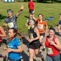 Lattelecom Riga Marathon - Neringa Sirkaite (829), Kira Skorodumova (1827), Liubov Georgieva (3820), Daiga Ribikauska (4446), Vilnis Ķirsons (7331)