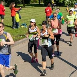 Lattelecom Riga Marathon - Ruslans Mamedovs (1556), Galit Tamar (3796), Rica Kammay (6317), Linda Pavļuta (7646)