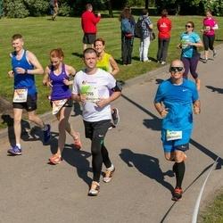 Lattelecom Riga Marathon - Aimur Kütt (292), Viktoria Kütt (293), Oleksandr Skrypnik (6752), Edgars Grigorjevs (7255)