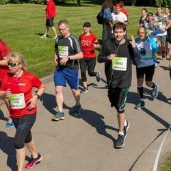 Lattelecom Riga Marathon - Waldemar Schulgin (4912), Anita Kancāne (5006), Niklāvs Kauliņs (8003)