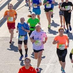 Lattelecom Riga Marathon - Edgars Kārklis (1175), Antonina Kholodova (4974), Aleksandrs Sergejevs (6782)