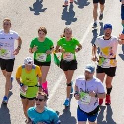 Lattelecom Riga Marathon - Natālija Bernāne (638), Akvile Lisauskaite (1865), Marius Ignatonis (3189), Sandra Bičkovaitė (3988), Ivars Vācers (4537)