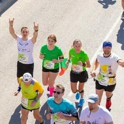 Lattelecom Riga Marathon - Akvile Lisauskaite (1865), Marius Ignatonis (3189), Liudas Balčiūnas (3987), Sandra Bičkovaitė (3988)
