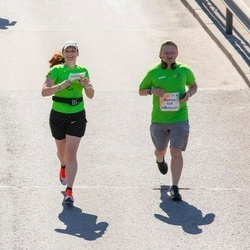 Lattelecom Riga Marathon - Marius Kazlauskas (649), Vitalija Indriuniene (4276)