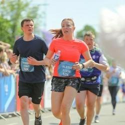 Tet Riga Marathon - Alesia Tsiabus (11338), Kristaps Gabrans (11367)