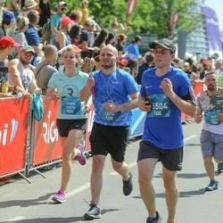 Tet Riga Marathon - Andra Odumāne (11475), Gaga Lobjanidze (12232), Rūta Dārgā (15504)