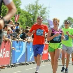 Tet Riga Marathon - Agita Koloda (10870), Aivars Āboltiņš (14923)
