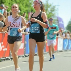 Tet Riga Marathon - Anete Salmiņa (11385), Santa Kazaine (14127)