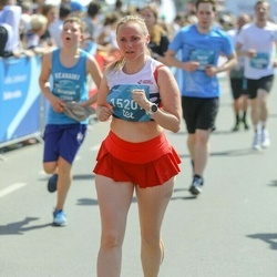 Tet Riga Marathon - Agnese Meikšāne (15207)