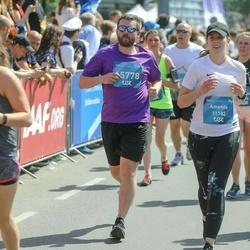 Tet Riga Marathon - Amanda Vilcāne (11182), Kaspars Siliņš (15778)
