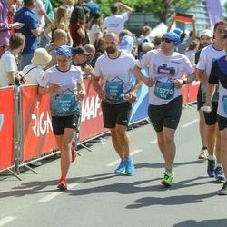 Tet Riga Marathon - Māris Allens (12189), Agnese Allena (12190), Sergei Gloukhov (15770)