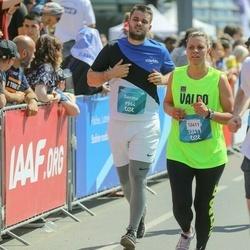 Tet Riga Marathon - Germo Nõgesmaa (9964), Marats Voronovs (12411)