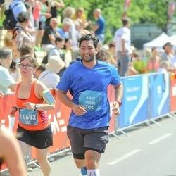 Tet Riga Marathon - Aftab Hussain (11400), Viktoriia Kazantseva (14682)