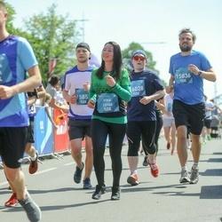 Tet Riga Marathon - Irina Ļitviha (13160), Andis Krauklis (15836), Alexey Shnyakin (16028)