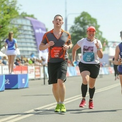 Tet Riga Marathon - Kyrylo Prymiskyi (1379), Aija Laškope (12422)