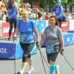 Tet Riga Marathon - Anita Barbane (10204), Irēna Šibeika (14465)