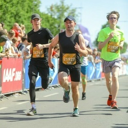 Tet Riga Marathon - Dāvis Leitāns (21927), Alise Kitija Rūtiņa (23925), Bruno Milbrets (24761)