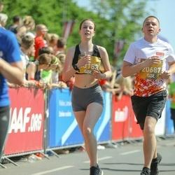 Tet Riga Marathon - Aleksandrs Rumjancevs (20687), Federika Volkane (23183)