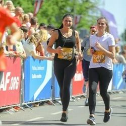 Tet Riga Marathon - Sabīne Dārta Strazdiņa (22815), Anna Kalniņa (22817)