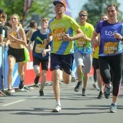 Tet Riga Marathon - Aigars Klucis (19830), Barbara Linga (21784)